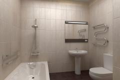 Отделка ванной комнаты - 1