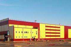 Цех по выпуску стальных конструкций г. Кириши