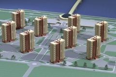 Нижний Новгород Микрорайон Юг 17-этажные дома_2