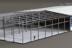Проект цеха металлообработки Конструктив цеха